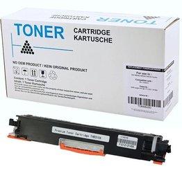 Hewlett-Packerd NuOffice Hp 126A Ce310A Laserjet Cp1025 zwart Compatible toner