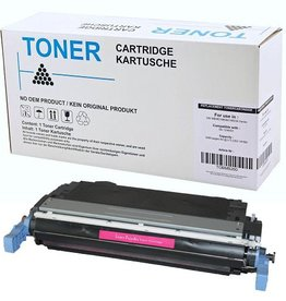 Hewlett-Packerd NuOffice HP 124A Q6003A, Canon 707M magenta Remanufactured Toner