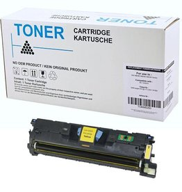 Hewlett-Packerd NuOffice HP 122A Q3962A, Canon 701Y geel Remanufactured toner