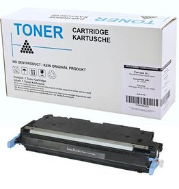 Hewlett-Packerd NuOffice HP 501A Q6470A zwart Compatible toner