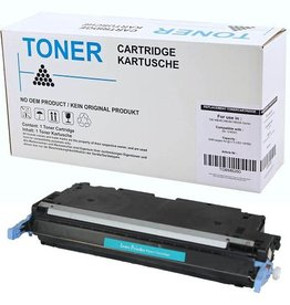 Hewlett-Packerd NuOffice HP 502A Q6471A cyan Compatible toner