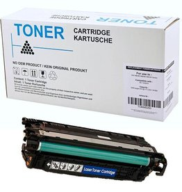 Hewlett-Packerd NuOffice HP 504A CE252A, Canon 723 geel Compatible toner