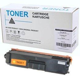 Brother NuOffice Brother TN-320Y TN325Y geel Compatible toner