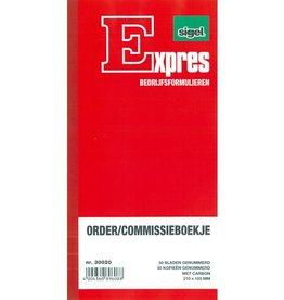 Sigel Sigel Expres order/commissieboekje met carbon 2x50 blad