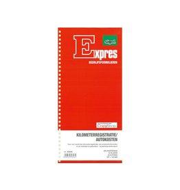 Sigel Sigel Expres kilometerregistratie/autokostenboek zelfkopiërend
