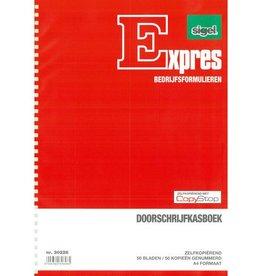 Sigel Sigel Expres doorschrijfkasboek A4 2x50 blad met spiraal