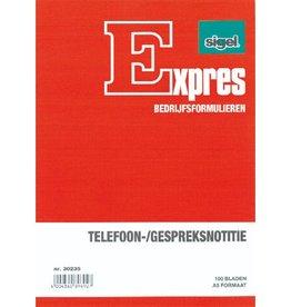 Sigel Sigel Expres telefoongespreksnotitieblok A5 100 blad