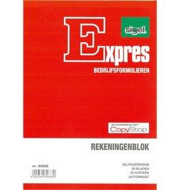 Sigel Sigel Expres rekeningblok zelfkopierend A5 2x50 blad