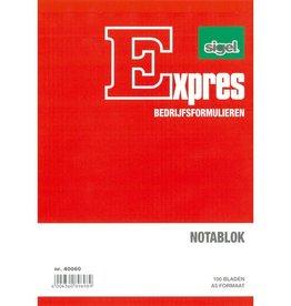 Sigel Sigel Expres notablok A5 hoog blok a 100 blad