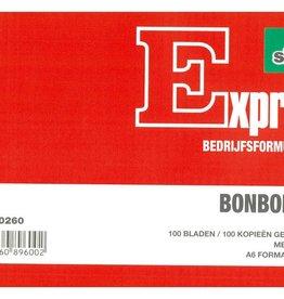 Sigel Sigel Expres bonboekje A6 met carbon blok a 2x100 blad