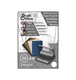 ProfiOffice ProfiOffice schutbladen A4 230gr. karton 20 stuks leer wit