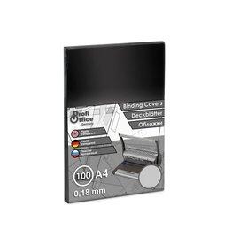 ProfiOffice ProfiOffice schutbladen A4 280 micron 100 stuks transparant mat