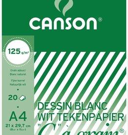 """Canson Canson Tekenblok """"C"""" à grain 125 g/m²"""