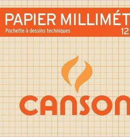 Canson Canson millimeterpapier A4