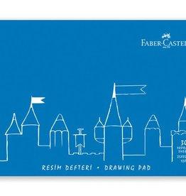 Faber Castell Faber-Castell tekenboek 25x35cm 30 vel