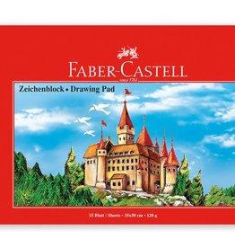 Faber Castell Faber-Castell tekenboek 35x50cm 15 vel