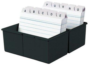 kaartenbakken