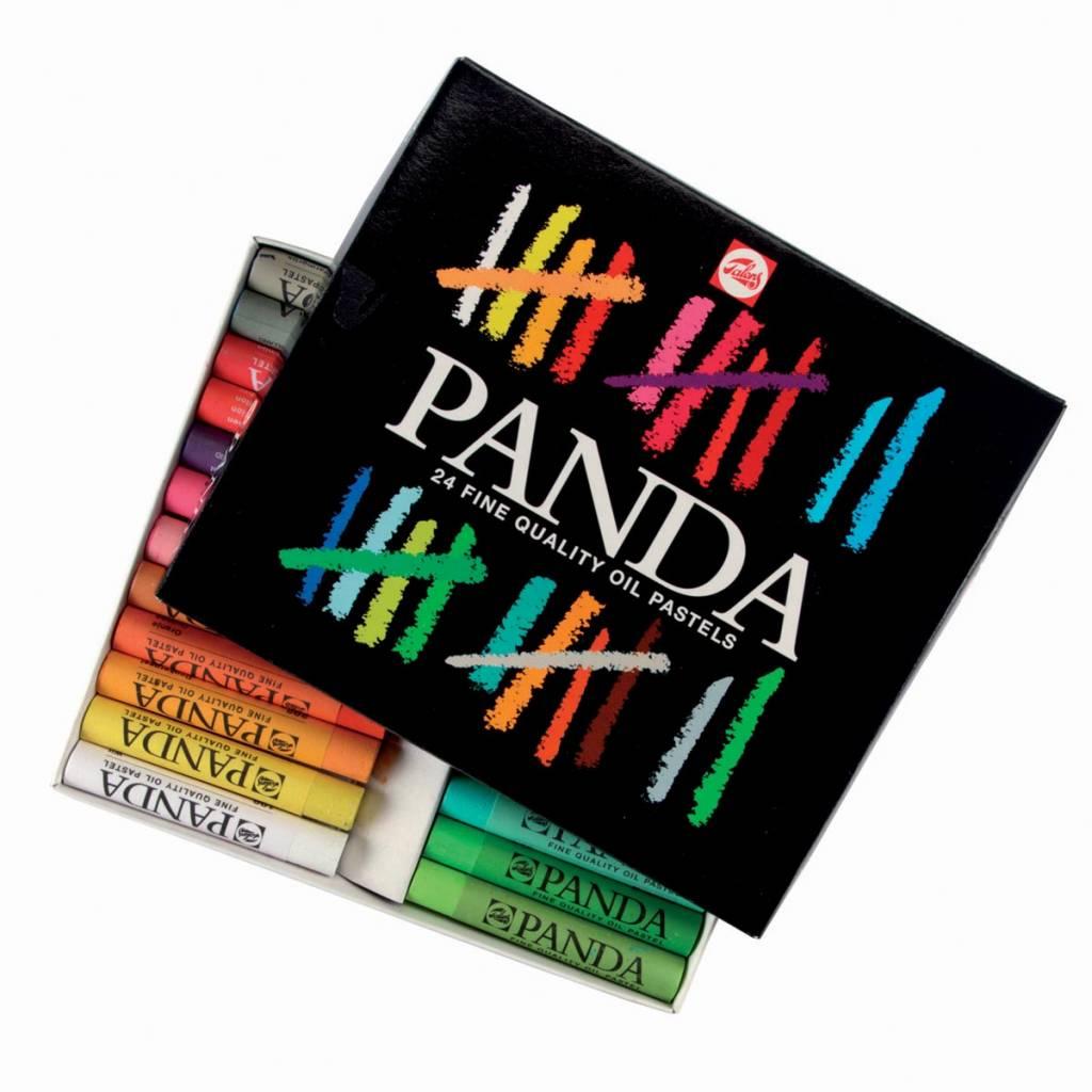 Talens Talens Panda oliepastel, doos van 24 pastels