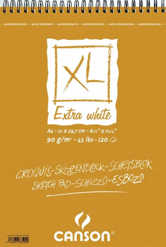 Canson Canson schetsblok XL Extra White ft 21 x 29,7 cm (A4)