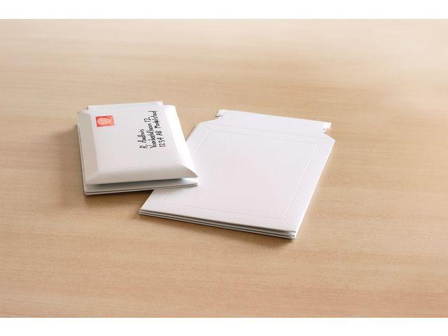 Raadhuis Raadhuis envelop 176x250mm karton wit 5 stuks