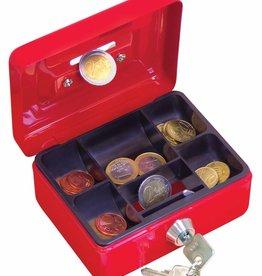 Wedo Wedo geldkoffer, ft 12,5 x 9,5 x 6,3 cm, geassorteerde kleuren