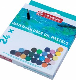 Talens Talens Art Creation wateroplosbare oliepastels, doos met 24 stuks