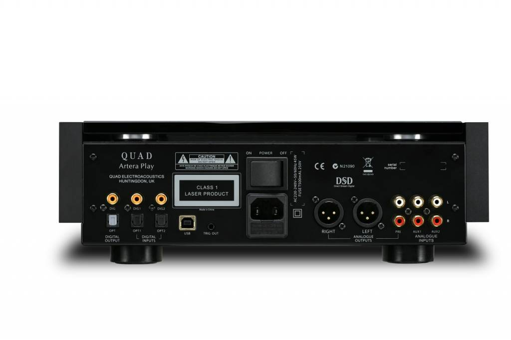 Quad Quad - Artera Play + voorversterker/cd speler/dac