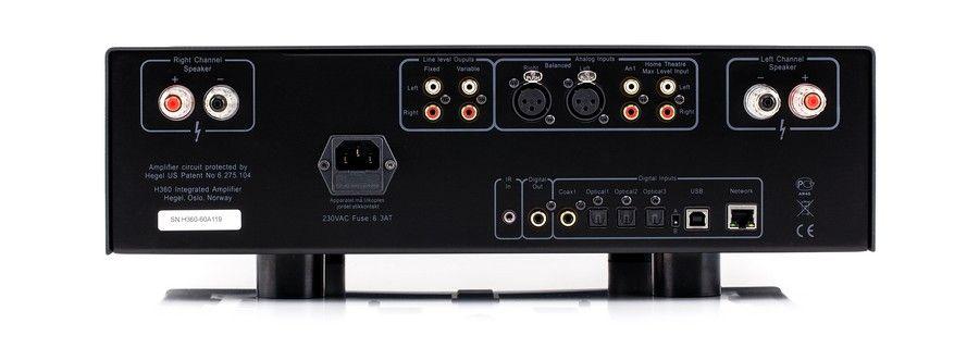 Hegel HEGEL H360 stereo versterker/dac