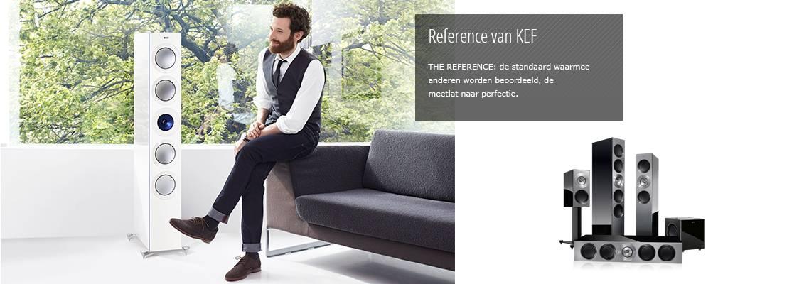 Reference van KEF