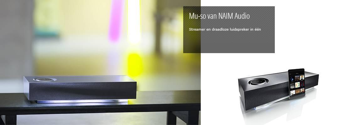 Mu-so van NAIM Audio