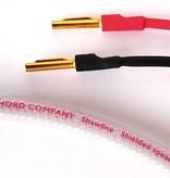 The Chord Company Shawline speaker kabel met pluggen