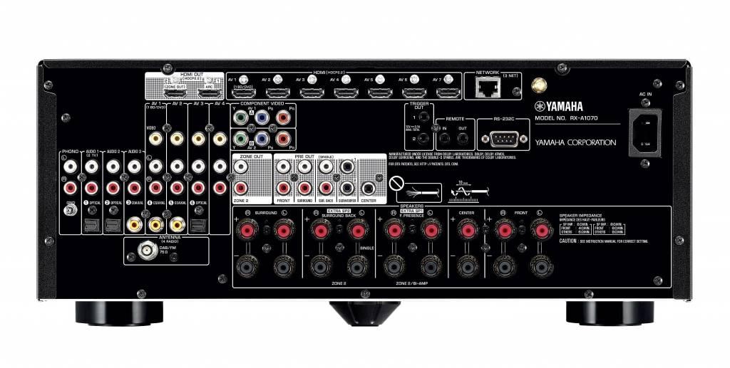 Yamaha Yamaha RX-A1070 surround receiver