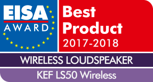 EISA award KEF LS50 wireless