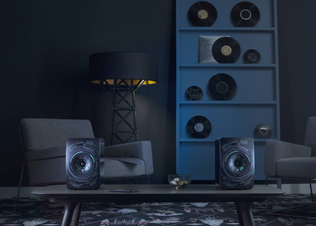 KEF LS50 Wireless 'Nocturne' by Marcel Wanders