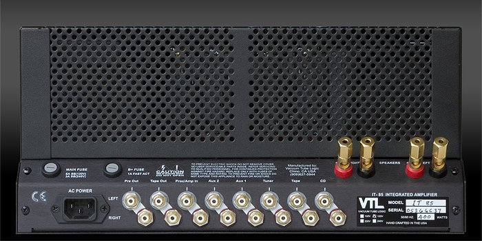 VTL IT-85 stereo buizenversterker