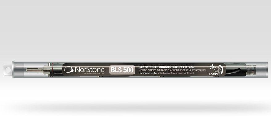 Norstone BLS 500 Banana plugs Set
