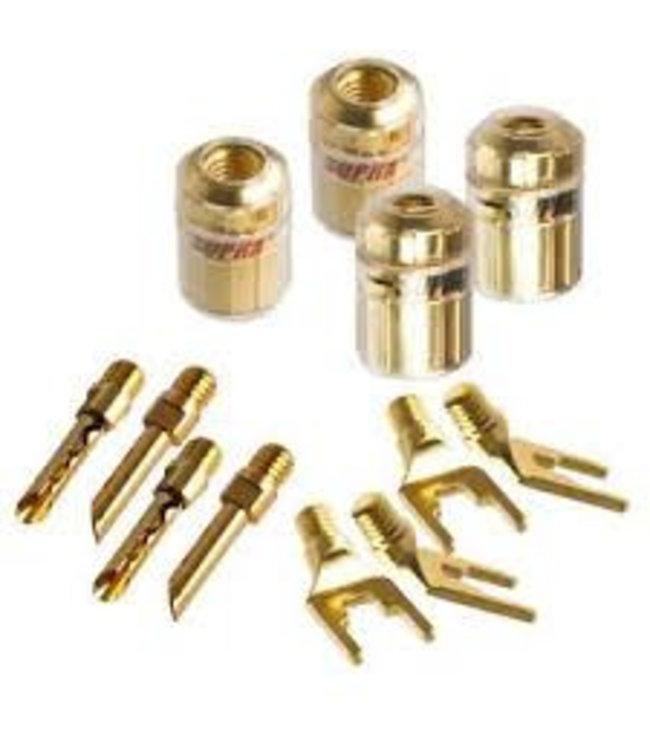 Supra Cables CombiCon Kit luidspreker connectors