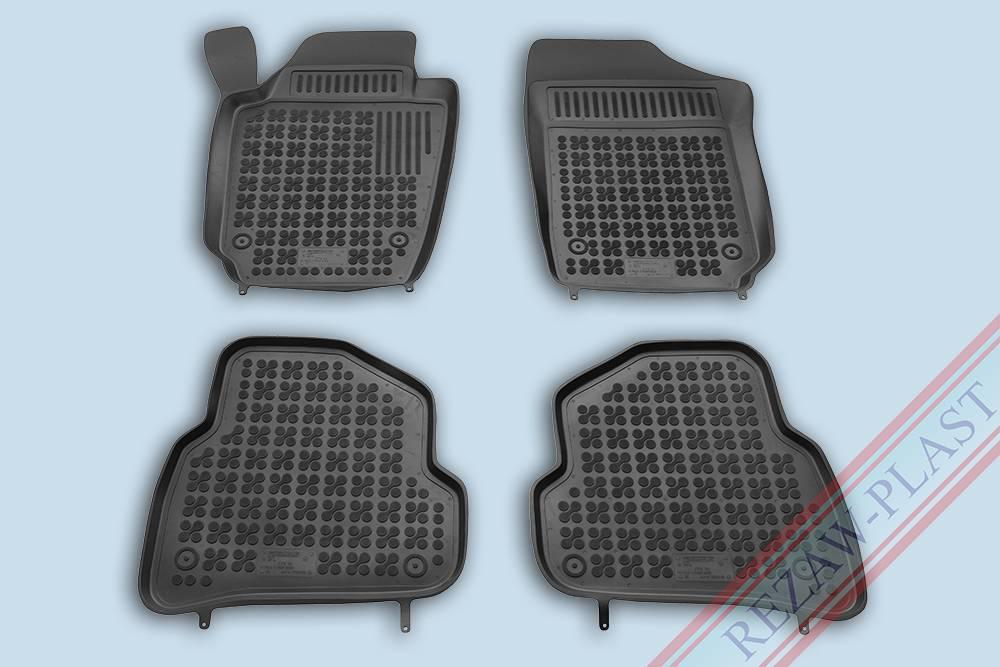passgenaue gummimatten f r volkswagen polo v. Black Bedroom Furniture Sets. Home Design Ideas