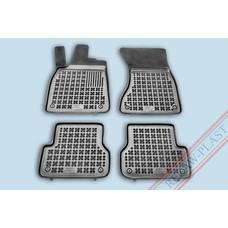 Rezaw Plast Gummi Fußmatten für Audi A6 C7 / A7