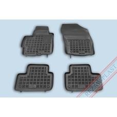Rezaw Plast Gummi Fußmatten für Mitsubishi ASX / Citroen C4 Aircross