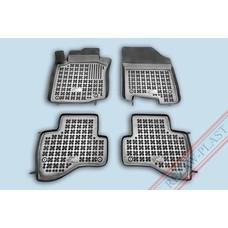 Rezaw Plast Gummi Fußmatten für Citroen C1 / Peugeot 107 / Toyota Aygo