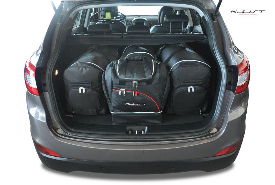 ma gefertigtes reisetaschen set f r hyundai ix35. Black Bedroom Furniture Sets. Home Design Ideas