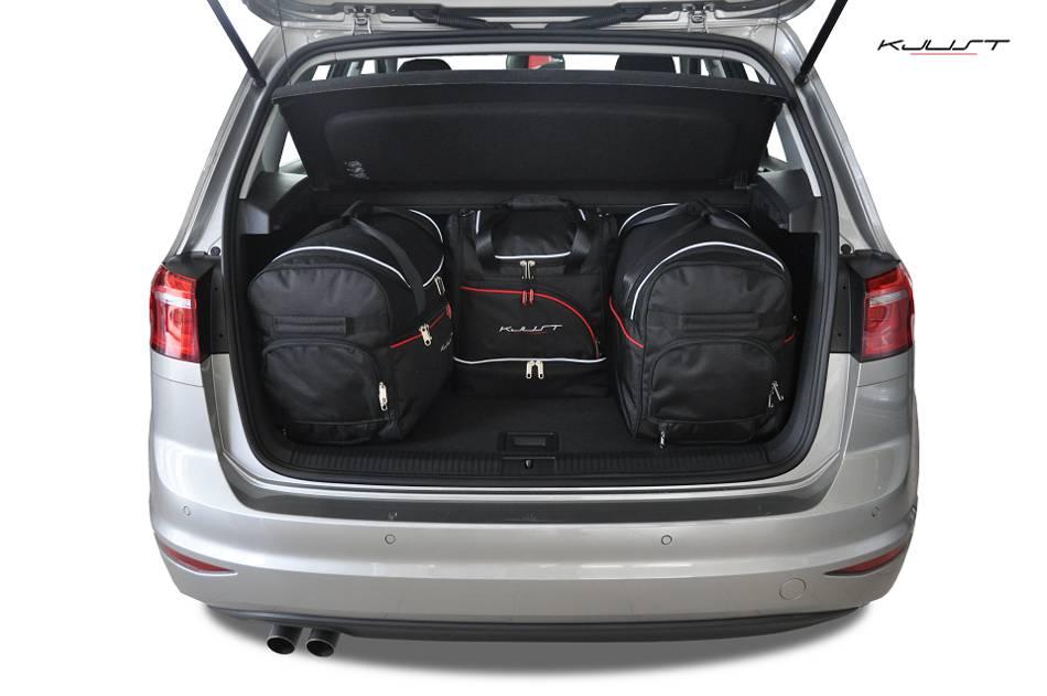 ma gefertigtes reisetaschen set f r volkswagen golf. Black Bedroom Furniture Sets. Home Design Ideas