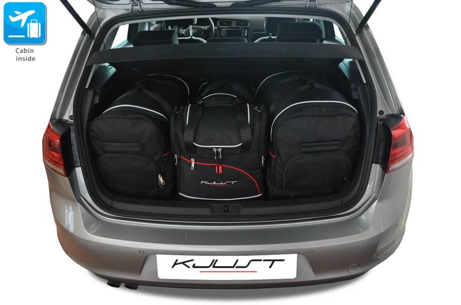 ma gefertigtes reisetaschen set f r volkswagen golf vii. Black Bedroom Furniture Sets. Home Design Ideas