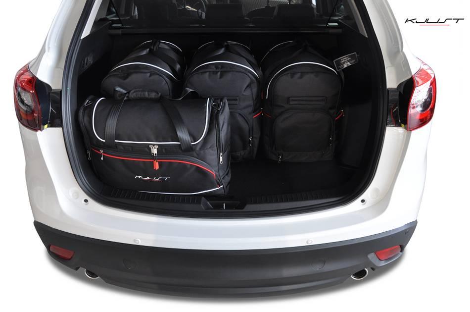Maßgefertigtes Reisetaschen Set für Mazda CX5  Maluchat