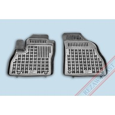 Rezaw Plast Gummi Fußmatten für Peugeot Bipper Cargo / Citroen Nemo Cargo / Fiat Fiorino Cargo