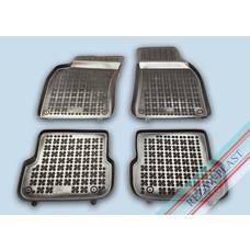 Rezaw Plast Gummi Fußmatten für Audi A6 C6 FL (2008-2011)
