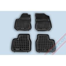 Rezaw Plast Gummi Fußmatten für Citroen C4 Cactus