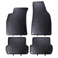 Geyer & Hosaja Gummi Fußmatten Geyer Hosaja für Audi A4 B6 B7 / Seat Exeo