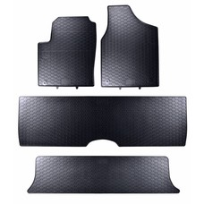 Geyer & Hosaja Gummi Fußmatten Geyer Hosaja für Ford Galaxy Seat Alhambra VW Sharan I